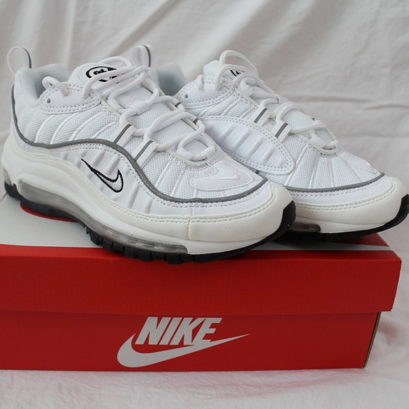 a2a21e8af6 Nike Shoes | Wmns Air Max 98 Triple White New Size 55 | Poshmark